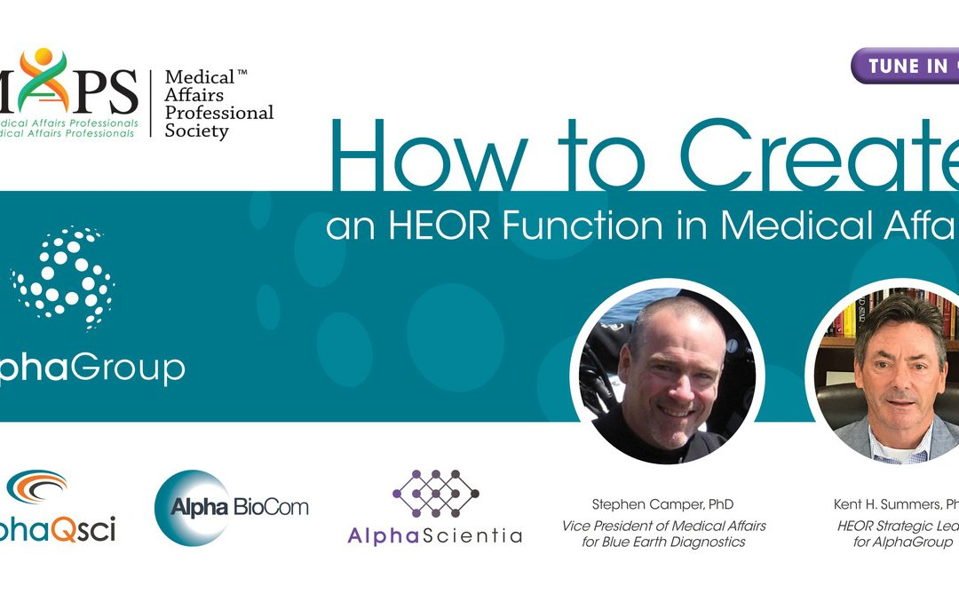 How to Create an HEOR Function in Medical Affairs