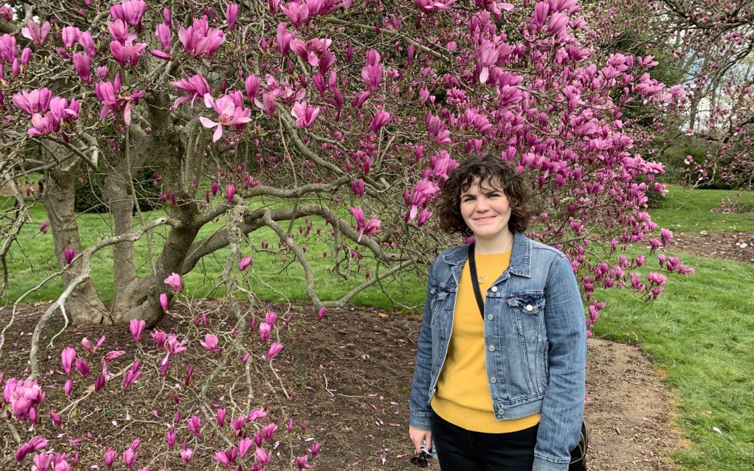 Katie Pieper, PhD, puts the wow in Scientific Communications—just ask her about the selfish sex chromosome in a mushroom-feeding fruit fly